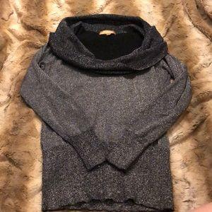 Ellen Tracy Sweaters - Ellen Tracy Cowl neck Sweater S Sparkle